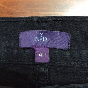 NYDJ Black denim jeans